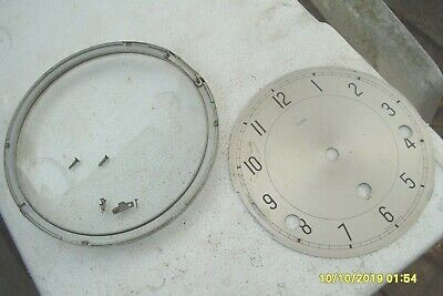 Clock Parts Smiths Westminster Dial / Bezel / Glass Door