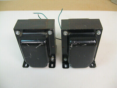 Electra-Print Audio plate/anode chokes 100Hy 80 ma. 210 ohm dcr One pair