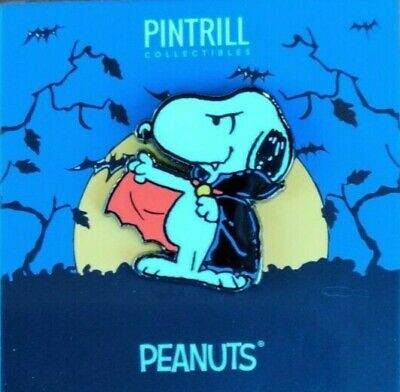 PINTRILL X PEANUTS - Snoopy Dracula PinEXCLUSIVE SOLD OUT !!