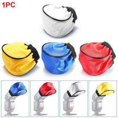 Speedlight Photography Reflective Cover Soft Cloth Flash Diffuser Universal DSLR