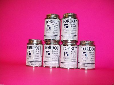 6 Cans of Torbot New Skin Bonding Adhesive Ostomy Cement Skin Bond Skinbond