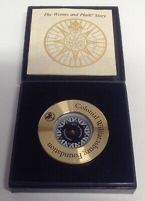 Weems & Plath Colonial Williamsburg Foundation Compass Collectible Memorabilia