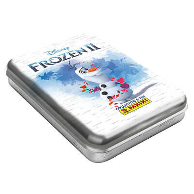 panini frozen 2 trading cards collector tin sealed comes with 4 packets