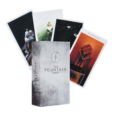79Pcs The Fountain Tarot: Illustrated Deck Cards And Electronic Guide Book AU