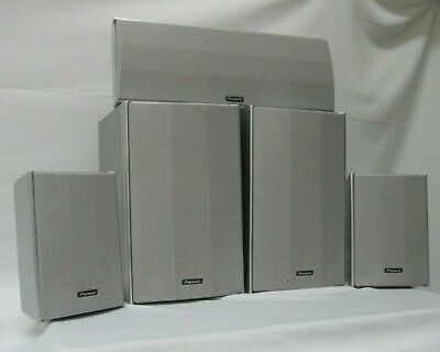 5-Piece Pioneer Home Theater Surround Sound Speaker System S-HTD520 - Tested