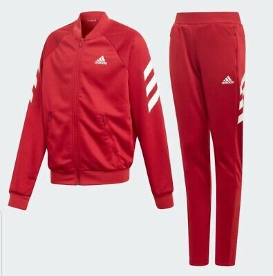 Junior Girls Adidas Tracksuit Infant Age UK 4 - 10 Years