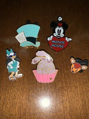 Lot of 5 Disney Trading Pins 100% Authentic