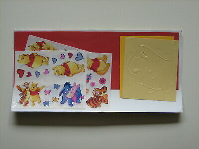 1 x Pack Disney POOH & FRIENDS Sticker & Die Cuts Pack - Rare -Creative Memories