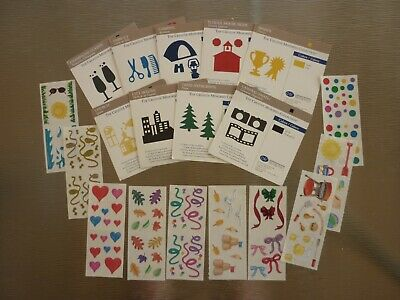 Assorted Stickers & Die-cuts Bundle # 4 -Creative Memories