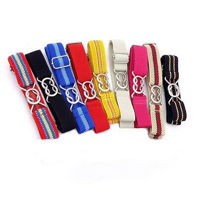 1pcs Fashion Stripe Wide Kids Children Elastic Adjustable Waist Belt Boys Girls