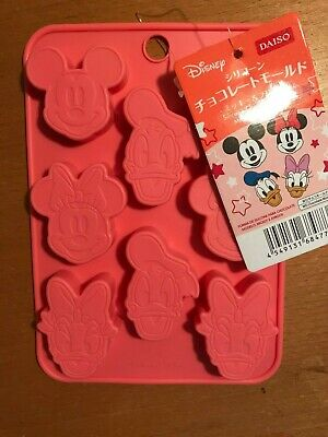 DISNEY Silicone Chocolate Molds - Mickey & Minnie Mouse , Donald Duck & Daphne