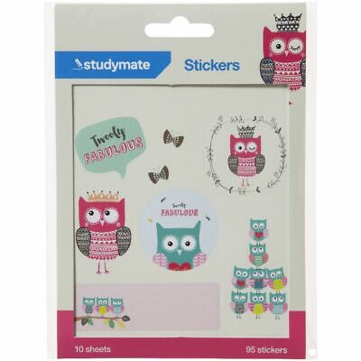 Studymate Sticker Sheets Owl
