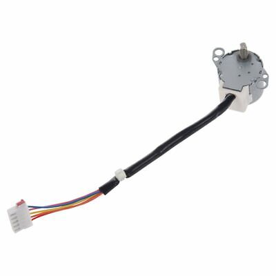 DC 12V CNC Reducing Stepping Stepper Motor 0.6A 10oz.in 24BYJ48 Silver P6X5