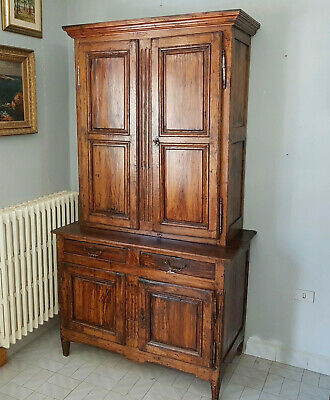 Original French Bookcase Louis Xvi  From 1780 Patina Antique