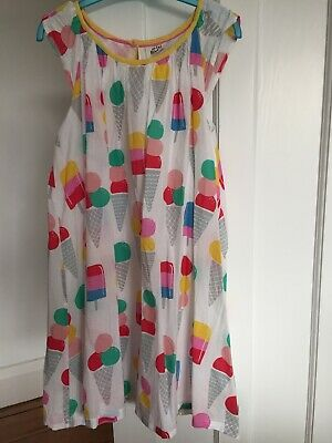 Mini Boden Dress Age 11-12 Years Fully Lined100% Cotton Very Condition