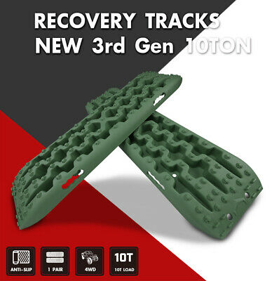 X-BULL Pair Recovery Tracks Sand Traction Snow Mud Tire Ladder Off Road Car 4WD