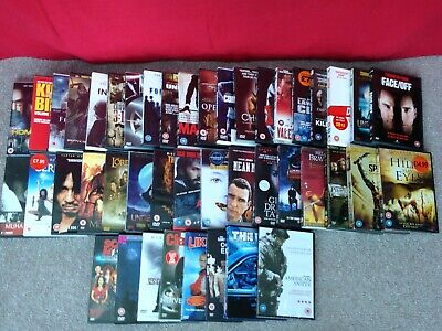 Job Lot Bundle Collection of DVD Movies - Mostly Horror, Thriller, Action Mix