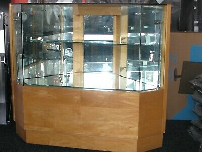 Jeweller's Glass Display Cabinets