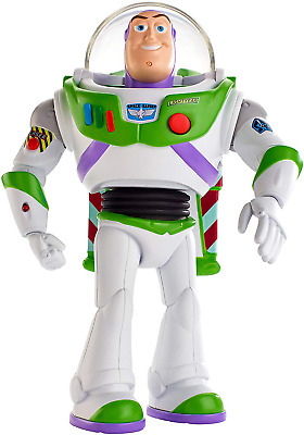 "Disney Pixar Toy Story Ultimate Walking Buzz Lightyear, 7"" Tall Figure with 20+"