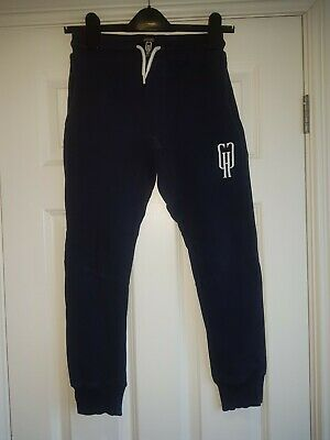 'Gifted Heroes' Navy Blue Jogging Bottoms - Age 9/10