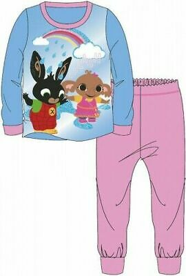 Bing Sula Pyjamas Childrens Kids Girls Pink Blue PJs Age 18 Months -5 Years