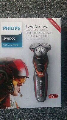 Philips SW6700/14 Star Wars Special Edition Poe Men's Wet & Dry Electric Shaver