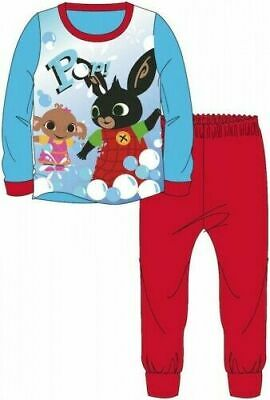 Bing Pyjamas Sula Childrens Kids Boys Girls Red Blue PJs Age 18 Months -5 Years