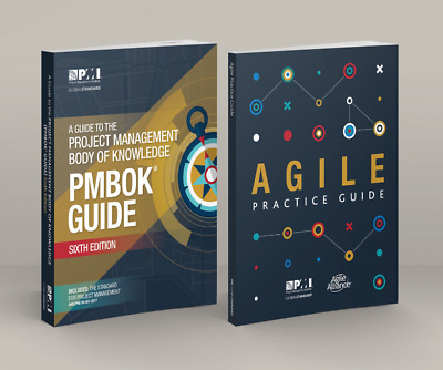 PMI PMBOK Guide 6th Edition 2018 + Agile Practice Guide 【P.D.F  EmaiL Delivery!】