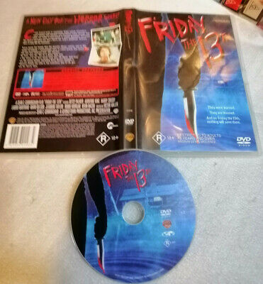 FRIDAY THE 13TH (1980) - 2017 Warner Video Issue + Extra Features! DVD R4 HORROR
