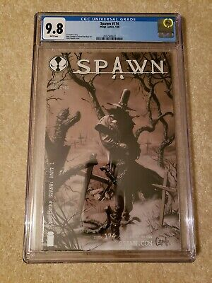 Spawn 174 CGC 9.8 Image Comics, freshly graded 1st Gunslinger Spawn