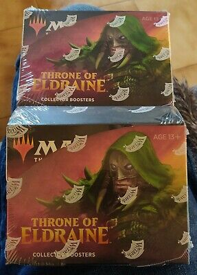 Throne of Eldraine Collector Booster Box - Sealed - MTG Magic the Gathering