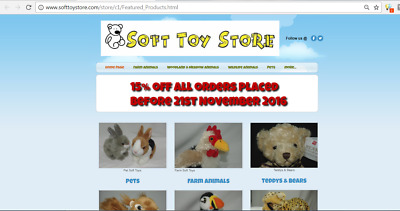 Plusch Soft Toy Store Online Shop Website Work From Home...Living Nature..Lamb