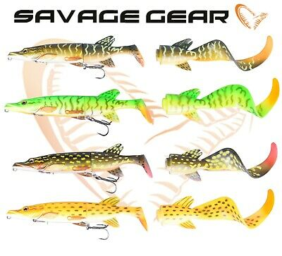 SAVAGE GEAR 3D Pike Hybrid 25cm 130g Slow Sinking Pike Lures FREE POST
