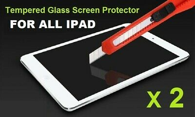 For Apple iPad 6th 5th gen. 2018/2017 Air 1 & 2 Tempered Glass Screen Protector