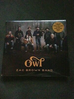 Zac Brown Band The Owl CD 2019 Factory Sealed NEW