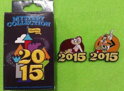 Disney Parks Daisy Duck & Goofy  Mystery Collection 2015  Trading Pin