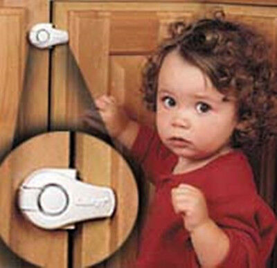3 Pack Safety 1st Lazy Susan Cupboard Child Safety Cabinet Lock - 72350