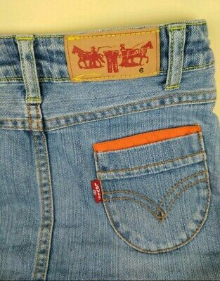 Gonna bambina Jeans levis anni 6