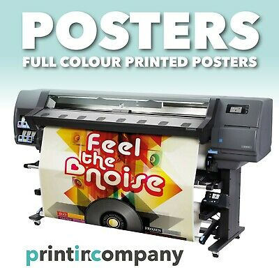 Satin or Gloss Colour Poster Printing A0 A1 A2 A3 A4-200gsm Paper