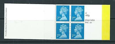 1989 HA1 BOOKLET 4 X 2nd WALSALL PRINTER COMPLETE