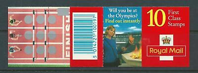 1996 HD32 BOOKLET WITH 10 X 1st MACHINS OLYMPIC HURDLES EVENT CYLINDER B11