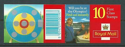 1996 HD33 BOOKLET WITH 10 X 1st MACHINS OLYMPIC ARCHERY EVENT CYLINDER B11