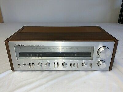 Vintage Technics SA-404 Stereo Receiver Silver Face - Working Order