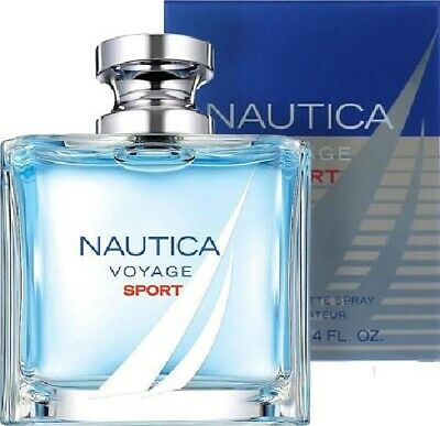 NAUTICA VOYAGE SPORT Cologne Perfume For Men 3.4 oz EDT Spray NEW IN BOX
