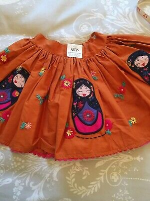 M&S Childrens Russian Doll Skirt 12/18 Months Old