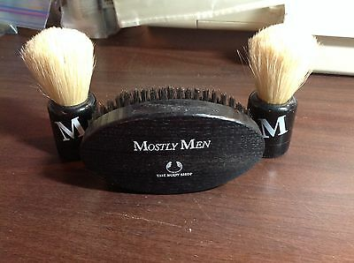 Shaving Brushes/Lint Brush from The Body Shop FURTHER REDUCED!!!!!!