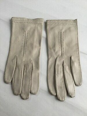 Vintage Boultons Womens Soft Leather Gloves Size 6