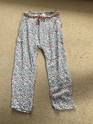 Girls Next Floral Trousers Age 4-5 Years