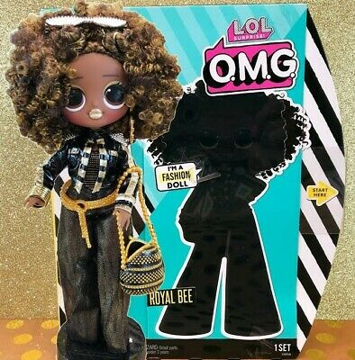LOL Surprise OMG Fashion Doll Sister Royal Bee 20 Surprises New & Ready to Ship