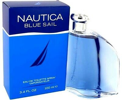 NAUTICA BLUE SAIL BY NAUTICA Cologne Perfume Men 3.4 oz Edt Spray NEW IN BOX